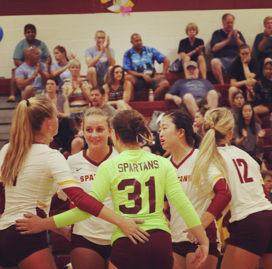 Broad Run Defeats Rock Ridge in Varsity Volleyball