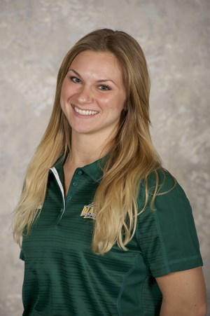 Caitlyn Delahaba as George Mason's Coach.