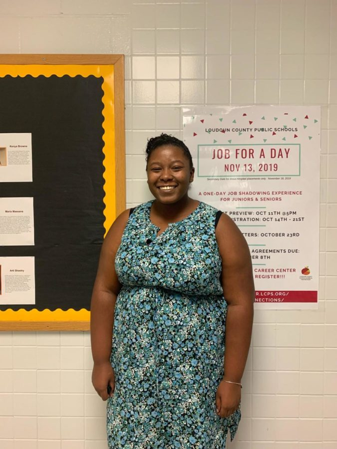 Welcome to Broad Run, Ms. Coleman!