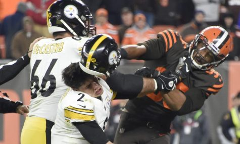Steelers-Browns Helmet Incident Stirs Controversy
